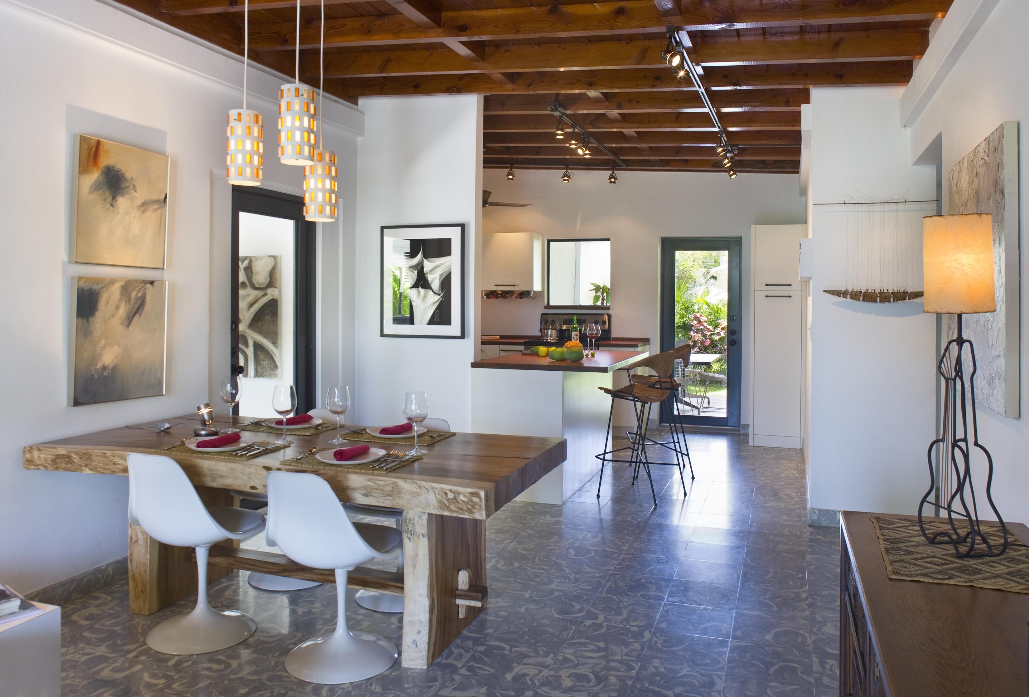 1517 Washington St. Key West, Dining Room and Kitchen