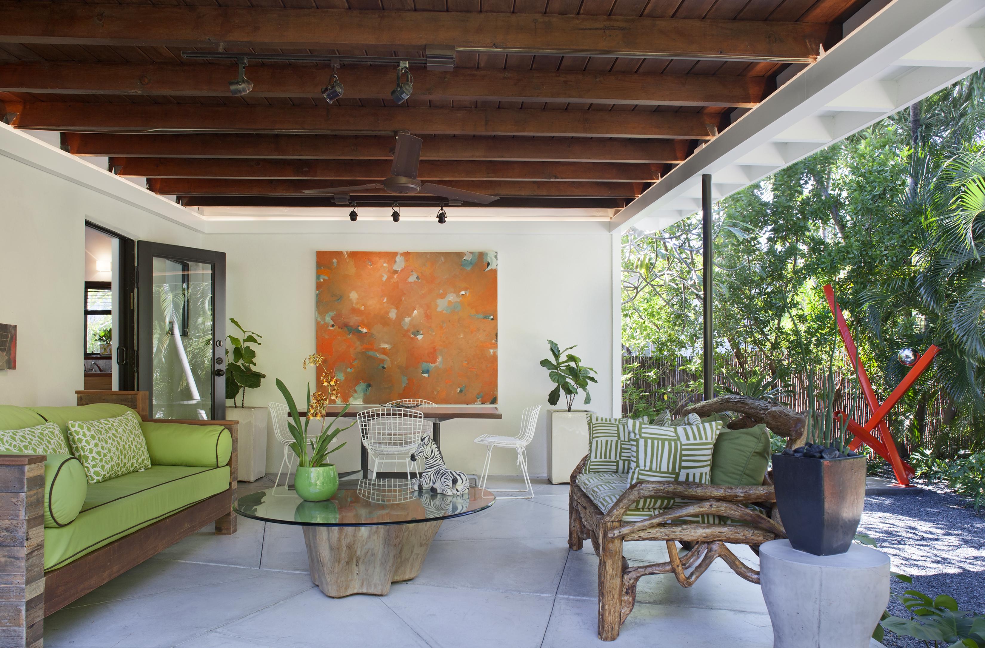 1517 Washington St. Key West, Lanai 1