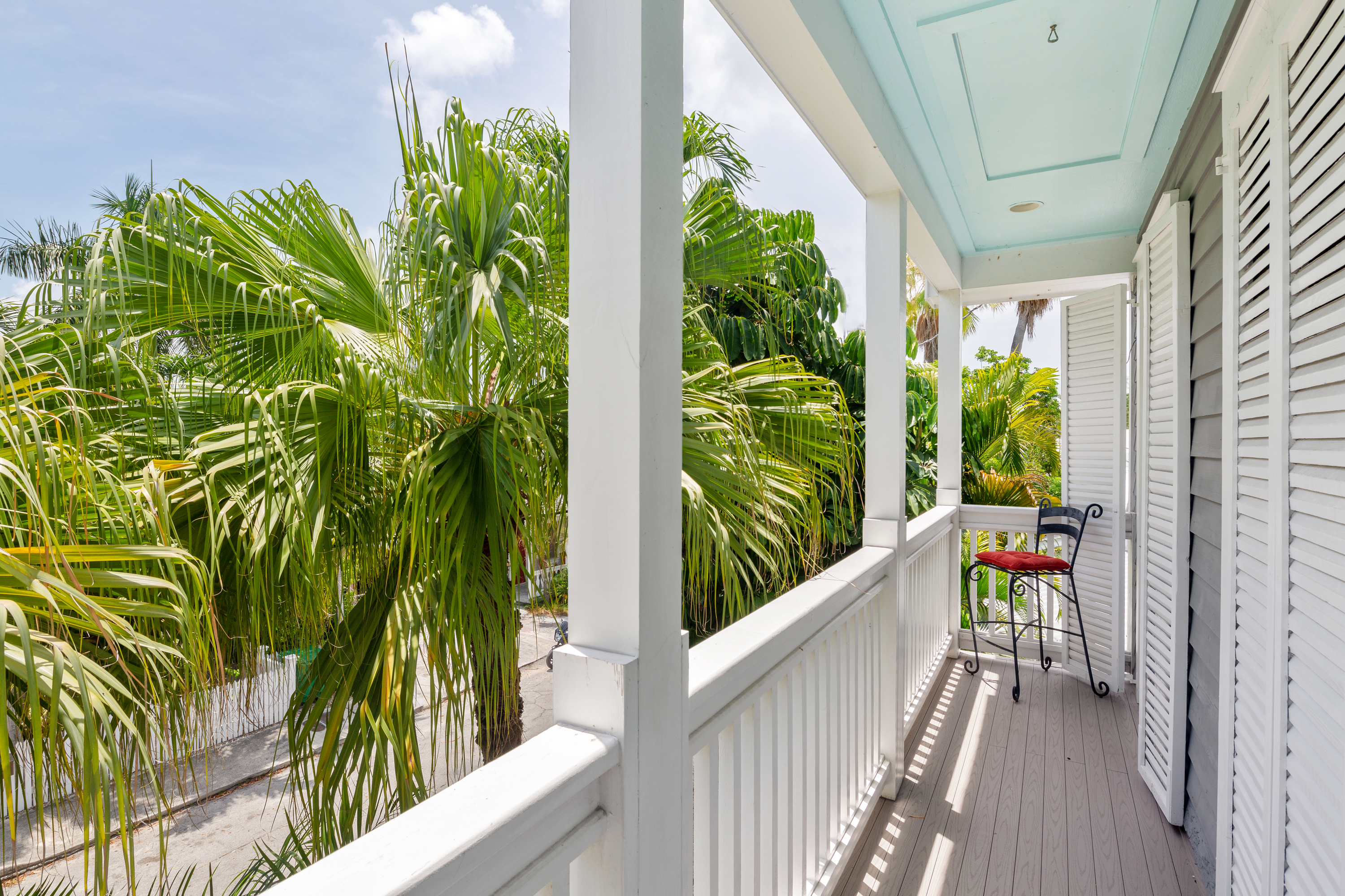 1217 Royal Street, Key West_Covered Porch View