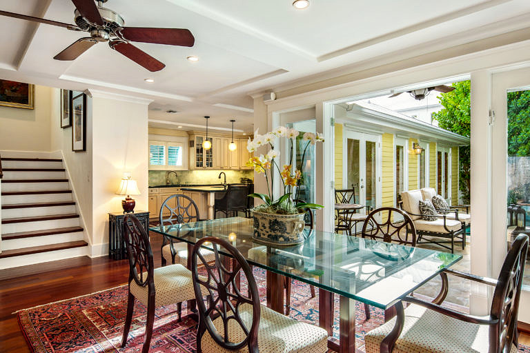 1416 White St, Key West_Dining Table-Kitchen View
