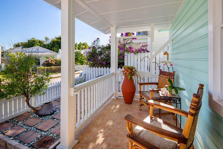 716 Elizabeth St, Key West_Covered Porch